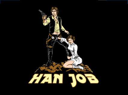 Han Solo Hand Job T-Shirt