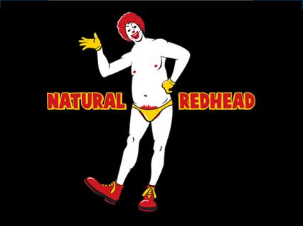 Ronald McDonald Natural Redhead T-Shirt