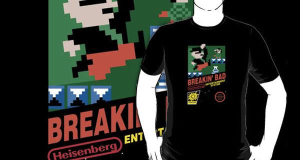 Breakin' Bad 8bit T-Shirt