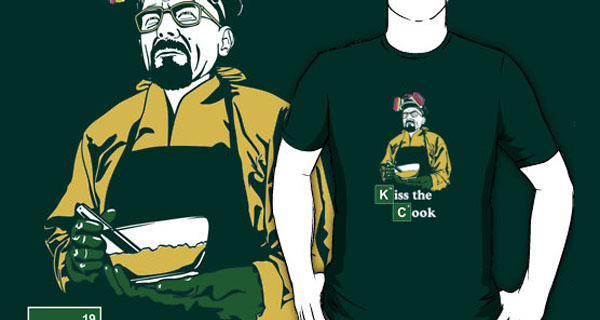 Breaking Bad Kiss the Cook T-Shirt