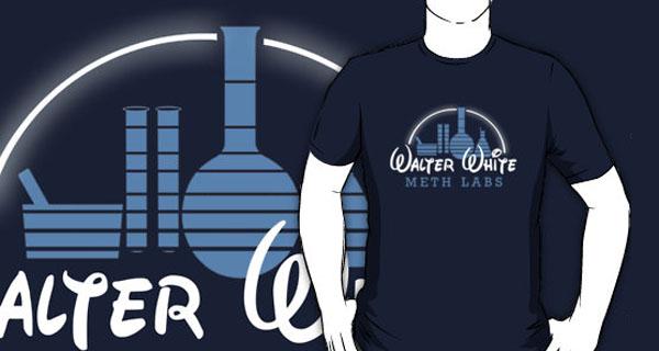 Breaking Bad Walter White Labs T-Shirt