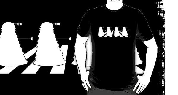 Daleks in Abbey Road T-Shirt