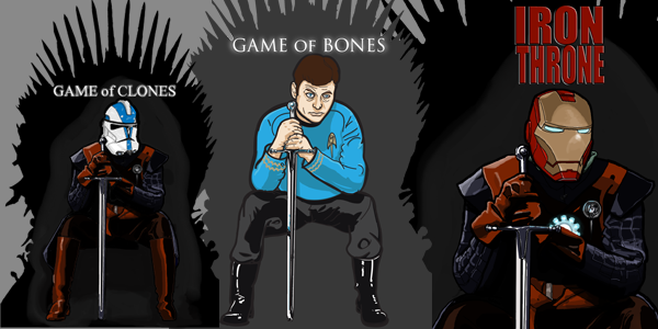 Game of Thrones Parody T-Shirts