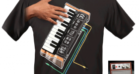 Playable Synthesizer T-Shirt