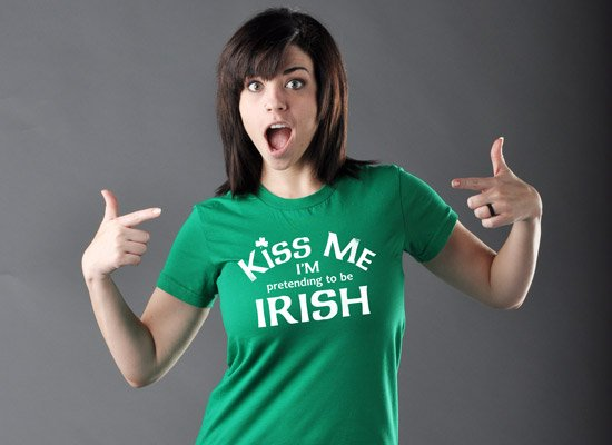 KISS ME I'M PRETENDING TO BE IRISH