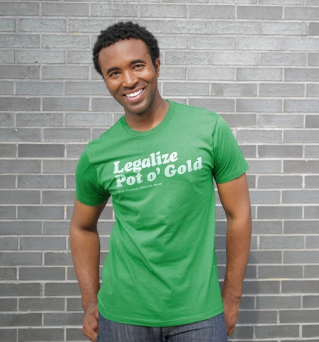 Legalize Pot o' Gold T-Shirt