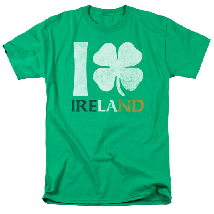 ST. PATRICK'S DAY I LOVE IRELAND T-Shirt
