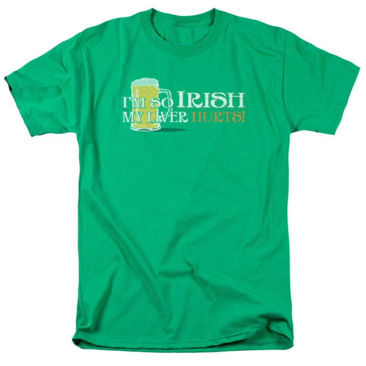 ST. PATRICK'S DAY SO IRISH GREEN T-SHIRT