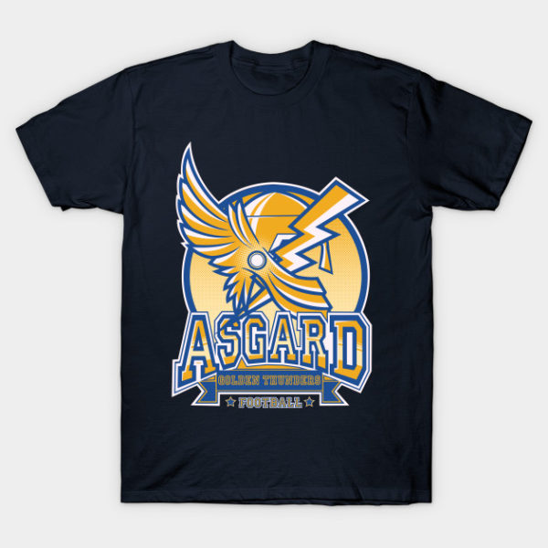 ASGARD GOLDEN THUNDERS FOOTBALL T-Shirt