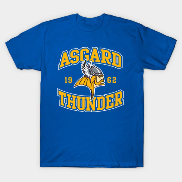 Asgard Gods Football Team Logo T-Shirt