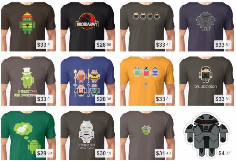 DroidArmy Mashup T-Shirts