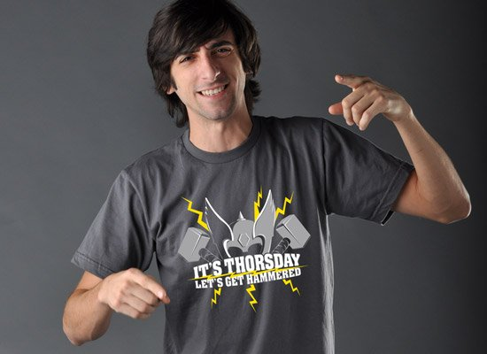 IT'S THORSDAY, LET'S GET HAMMERED T-Shirt