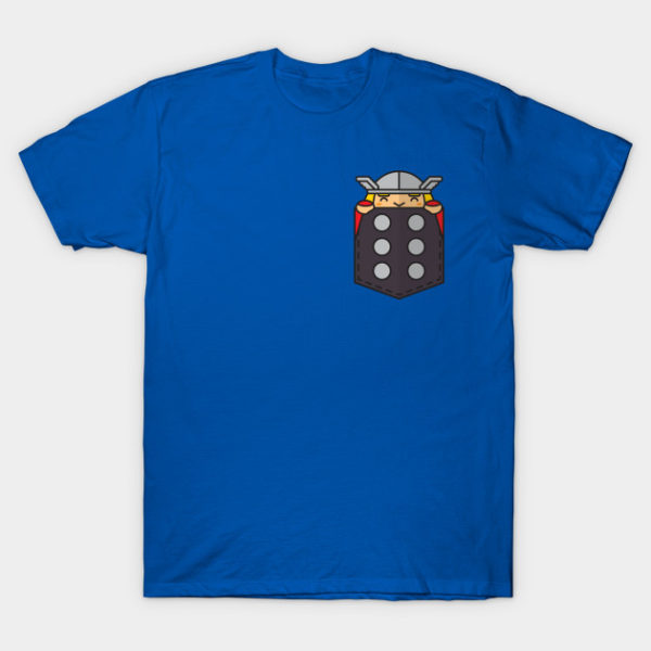 Pocket Superheroes T-Shirt
