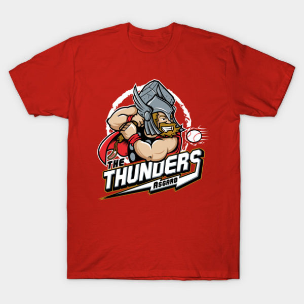 THE THUNDERS BASEBALL T-Shirt