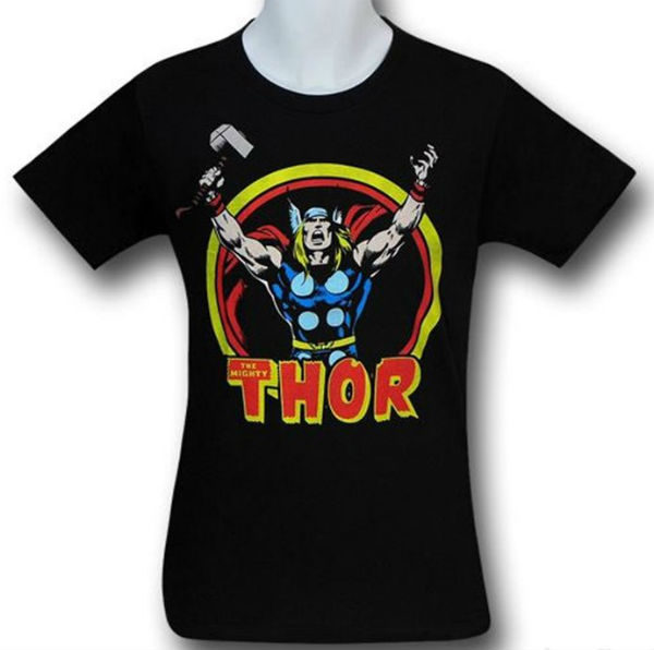Thor Arms Raised 30 Single T-Shirt