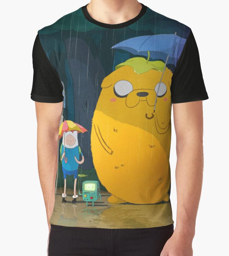 Art of Totoro - Studio Ghibli T-Shirt