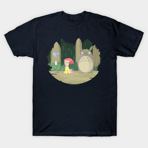 Flutters and Totoro T-Shirt