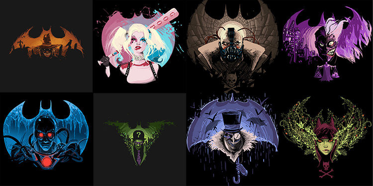 Batman Villain Nightmare T-Shirts