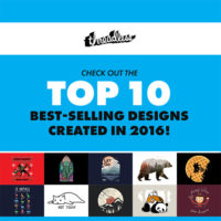 Most Popular T-Shirts at Threadless 2016