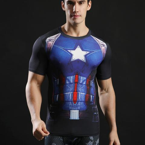 Another Captain America Compression Shirt