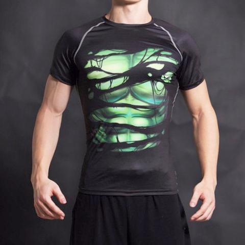 Hulk Alter Ego Compression Shirt