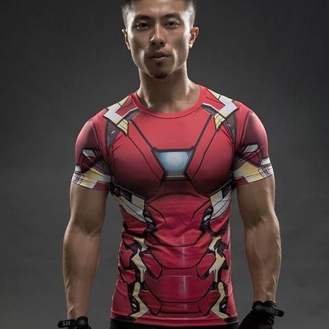 Iron Man MK46 Compression Shirt