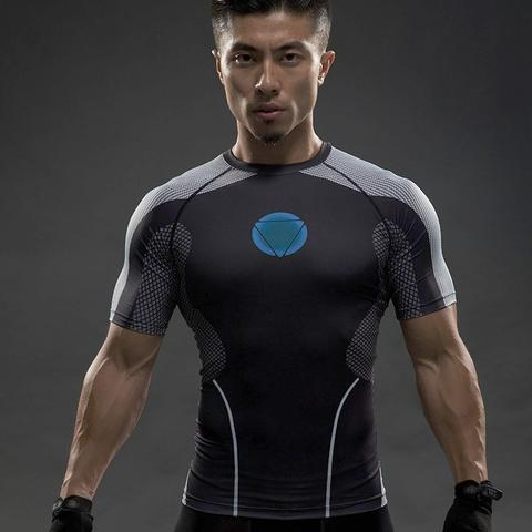 Iron Man Under Suit Compression T-Shirt