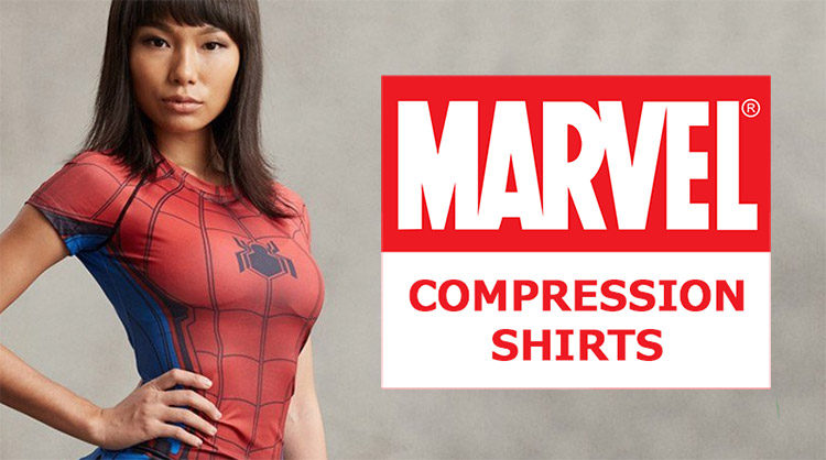 Marvel Comics Compression Shirts Banner