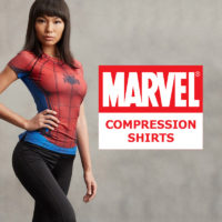 Marvel Comics Compression Shirts