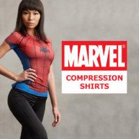 Marvel Comics Compression Shirts