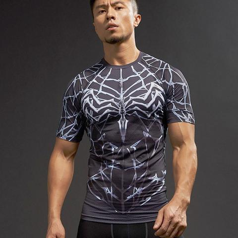 Spiderman Compression Dark Shirt
