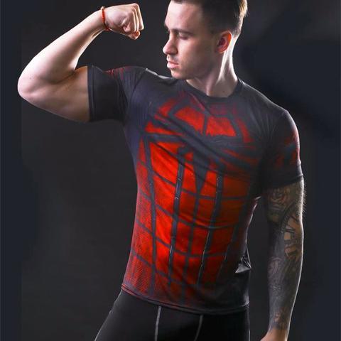Spiderman Compression Tee Shirt