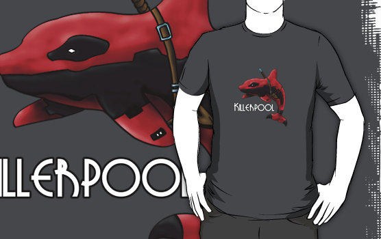 Marvel Whales Killerpool T-Shirt