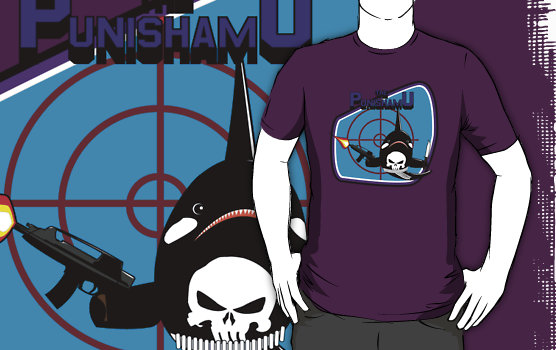 Marvel Whales Punishamu T-Shirt
