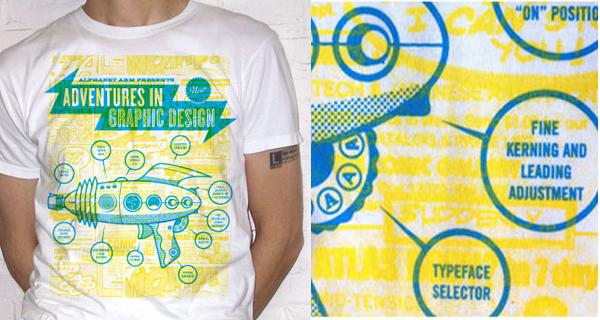 Adventures in Graphic Design T-Shirt