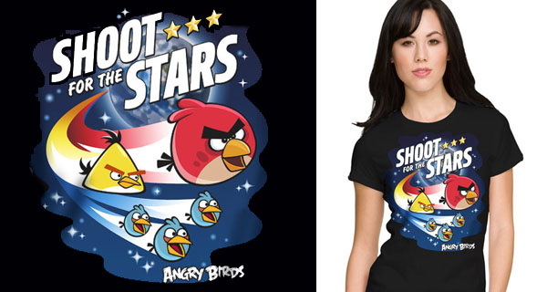 Angry Birds Shoot for the Stars T-Shirt