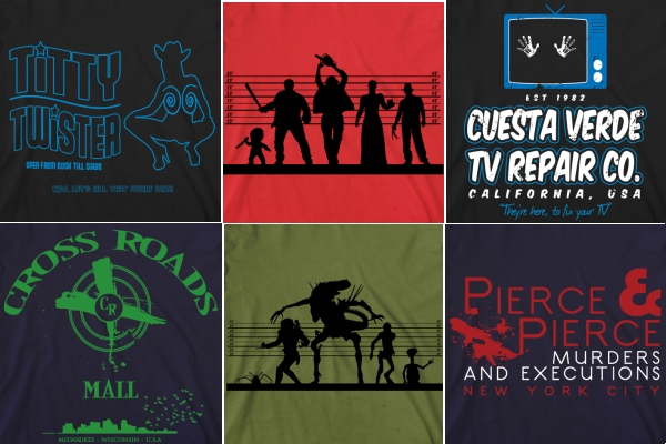 Horror T-Shirts from Arcane Movie Tees