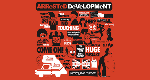 Arrested Development Quotes T-Shirt