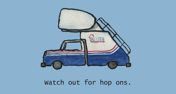 Bluth Stair Car T-Shirt