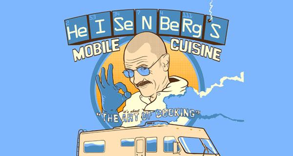 HeISeNBeRgS HeISeNBeRgS Mobile Cuisine T-Shirt