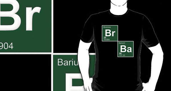 Br Ba Breaking Bad Logo T-Shirt