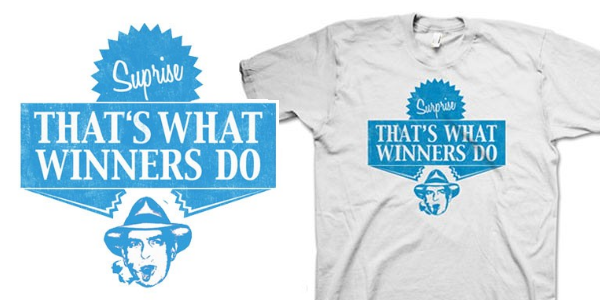 Charlie Sheen Thats What Winners Do T-Shirt