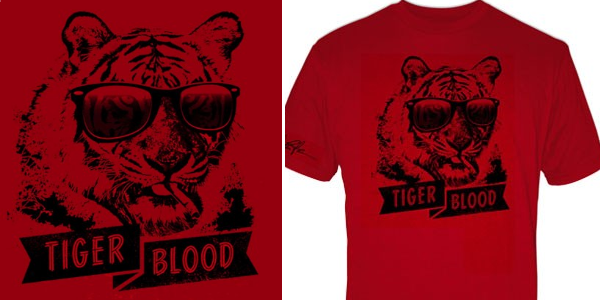 Charlie Sheen Tiger Blood Shirt