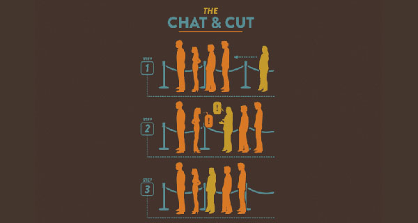 The Chat and Cut T-Shirt