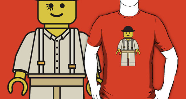 Lego Minifig Alex DeLarge T-Shirt