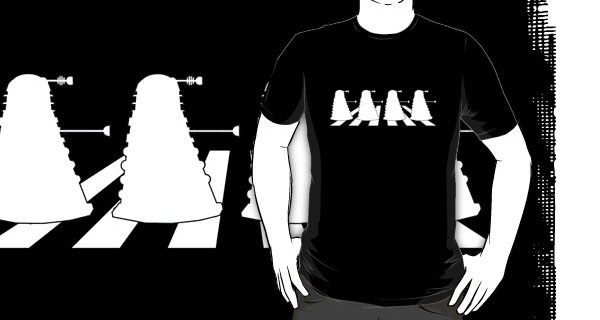 Daleks in Abbey Road T-Shirt