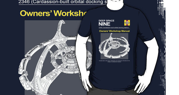Deep Space Nine 2364 Owners Workshop Manual T-Shirt