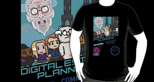 Digital Estate Planning T-Shirt
