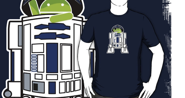 I Put a Droid in Your Droid T-Shirt