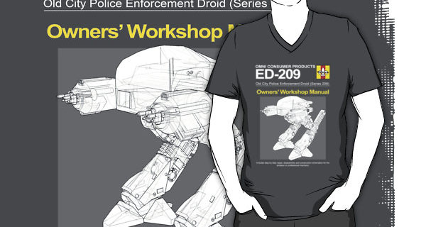 ED-209 Owners Workshop Manual T-Shirt